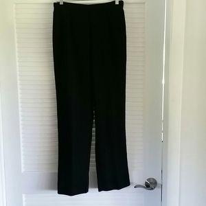 Sag Harbor Career Pants Black Size 8 Polyester